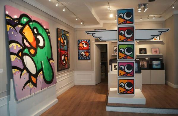 Birdy Kids, les drôles d'oiseaux du street art lyonnais