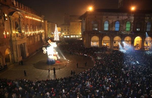 Capodanno Bologna piazza