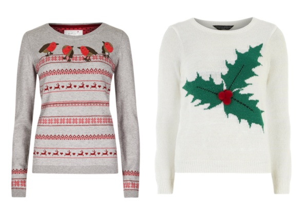 traditional christmas jumpers