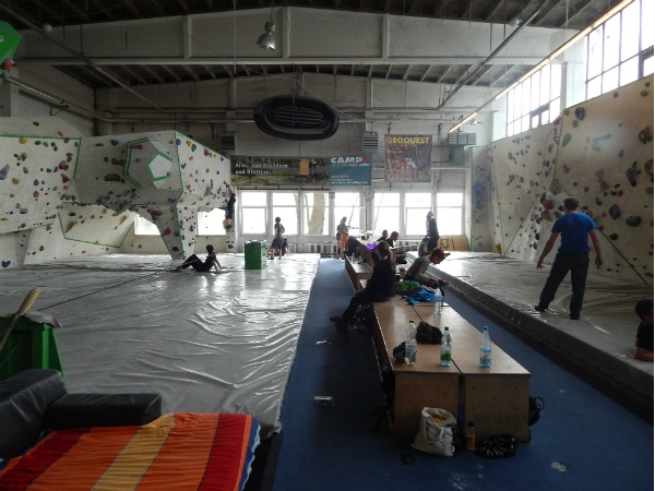 Ostbloc Kletterhalle in Berlin