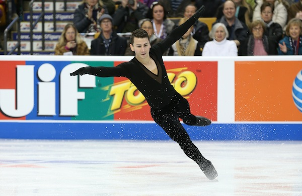 Five Ice-Skating Tips from US Figure-Skating Champion Max Aaron