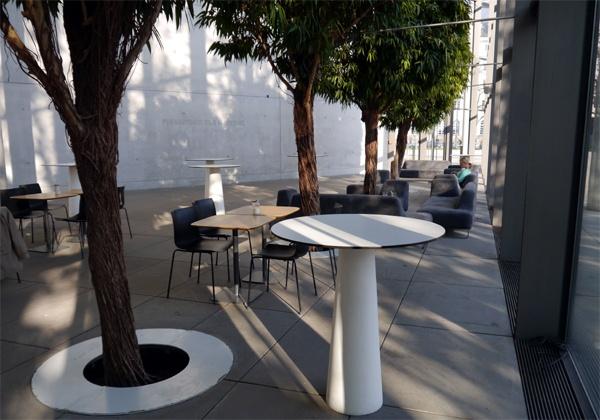 Cafe in der modernen Pinakothek
