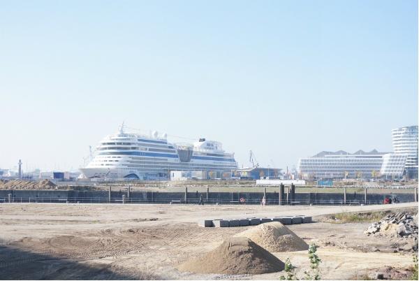 Hafen Terminal Hamburg