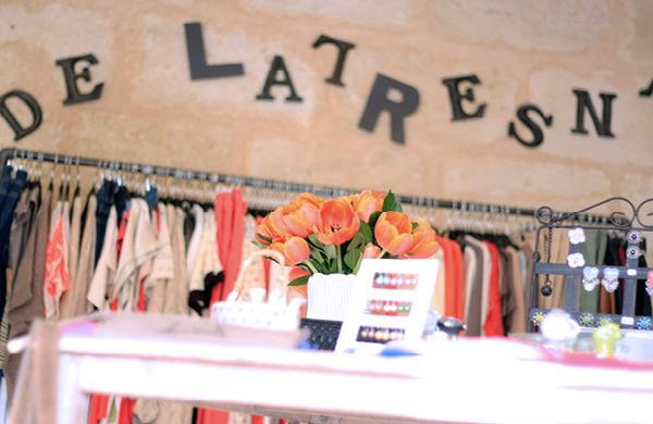 Le comptoir de Latresn', le style girondin