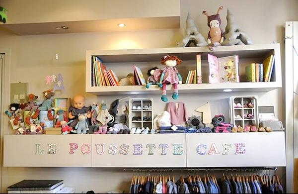 Les Cafés Poussettes à Paris