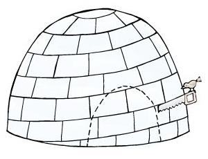 How to Build an Igloo  Step 8