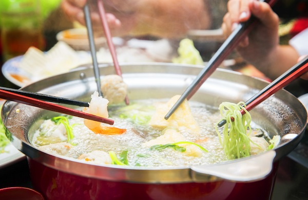 Every Diner is a Chef at a Chinese Hot Pot Meal