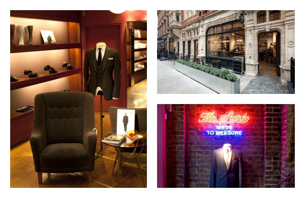 Top 5 Men's Boutiques in London