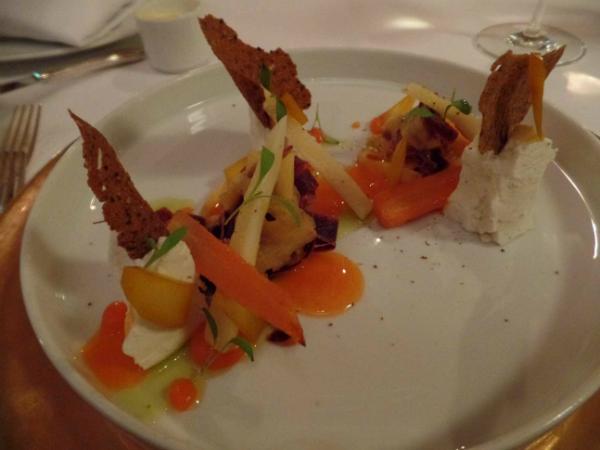 Das Restaurant Vau - Küchenkompositionen und andere Klänge