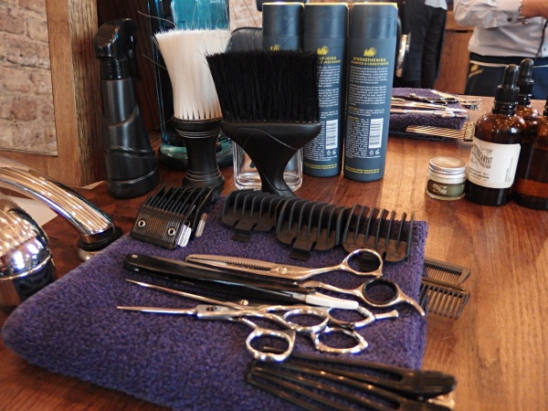 barber tools in Ruffians London