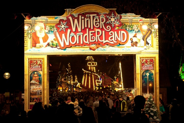 Things to Do in London at Christmas - Hyde Park's Winter Wonderland