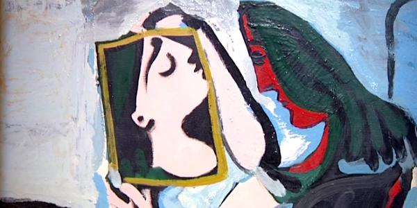 Visages Picasso Magritt Warhol © DR
