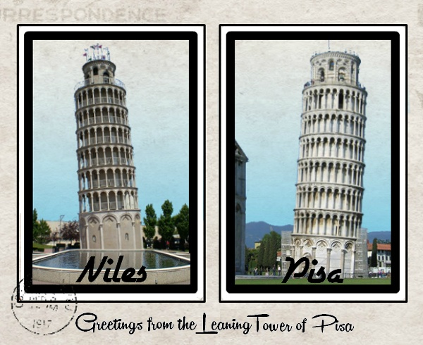leaning tower of pisa niles