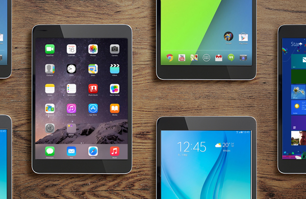 Tablet brands and operating systems