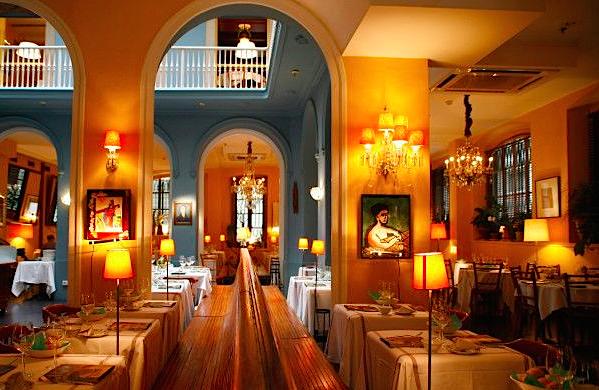 Restaurantes de Barcelona donde comer en Navidad