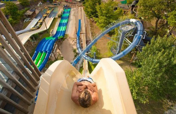 Best Slide Without Question Its The Black Anaconda A Quarter Mile Roller Coaster That Reaches Up To 30 Mph As It Goes Up And Down Six Times