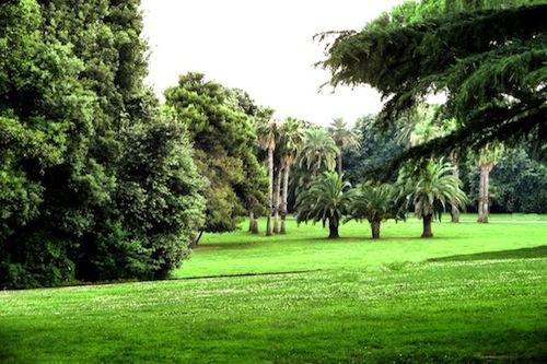 villa parchi Napoli
