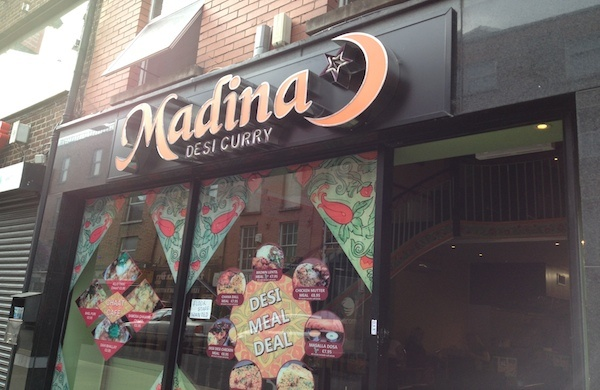 Indian restaurant Dublin, Madina