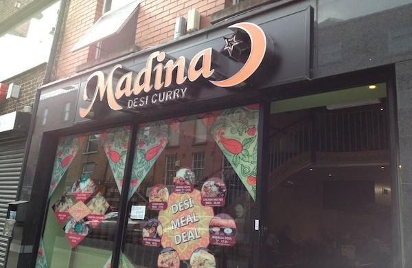 Indian restaurant Dublin, Madina