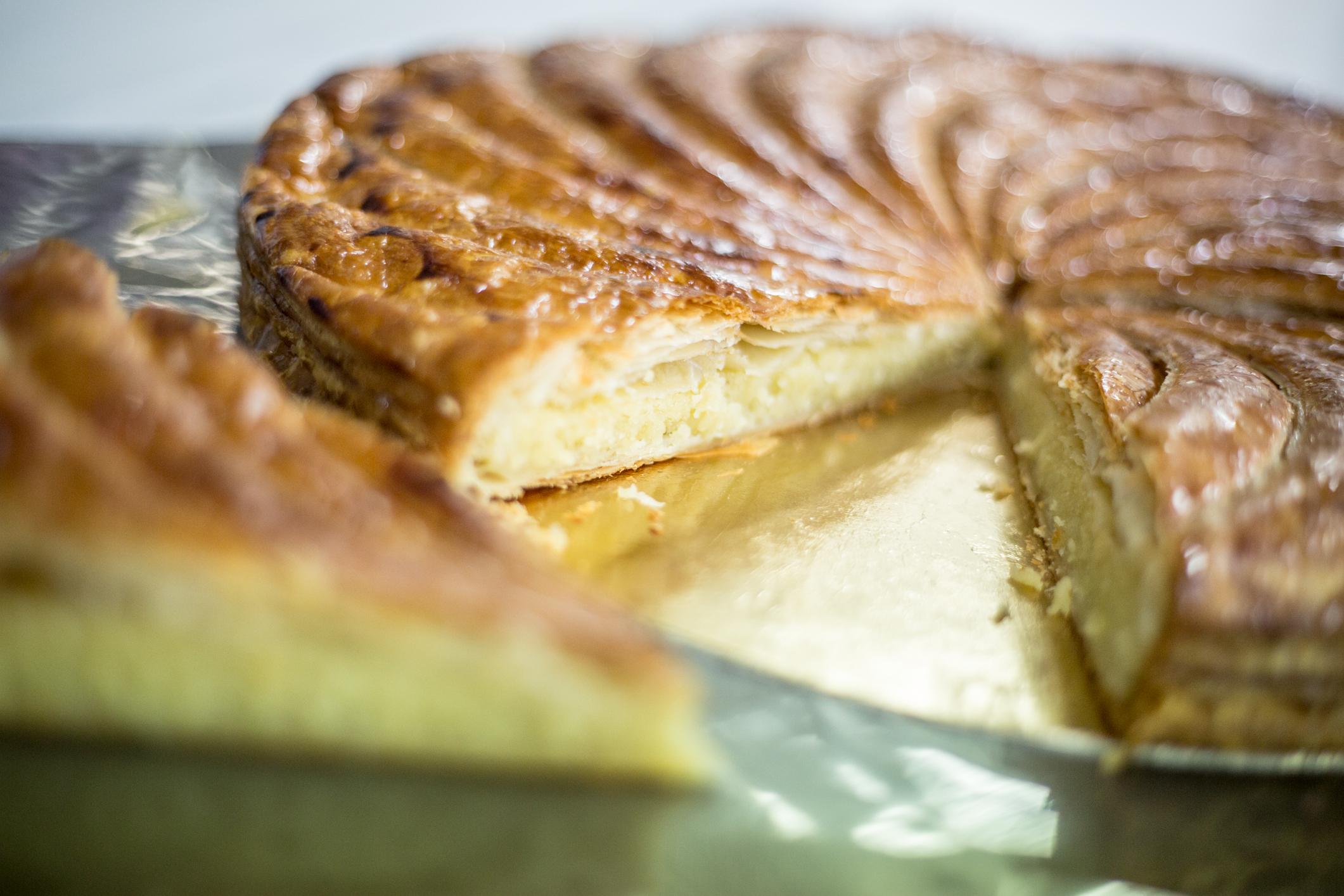 La galette des Rois de la Pastelería Francesa Lambert de Valencia