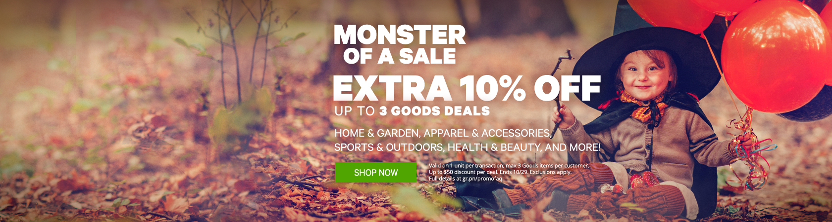 Monster of A Sale SItewide Sale