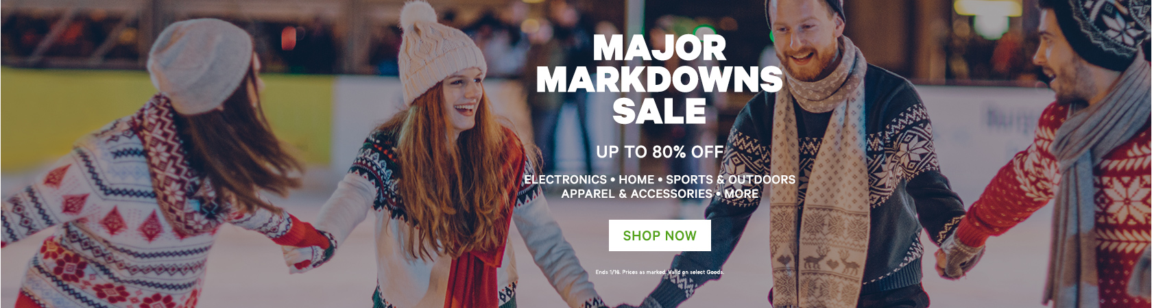 Major Markdowns