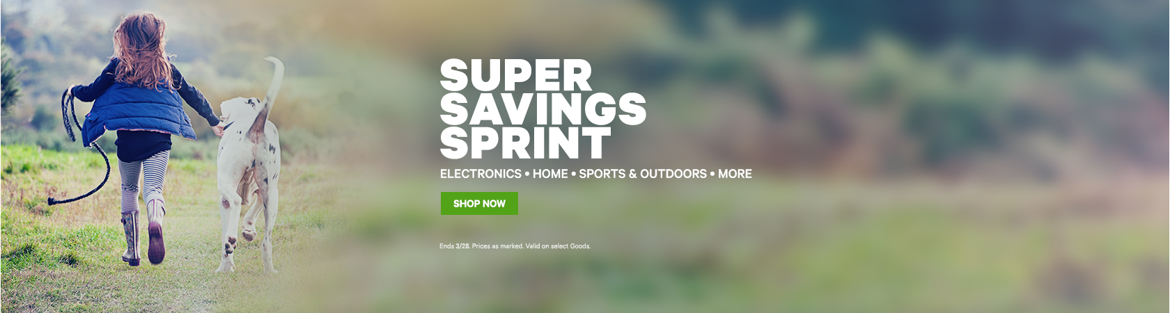 Super Savings Sprint