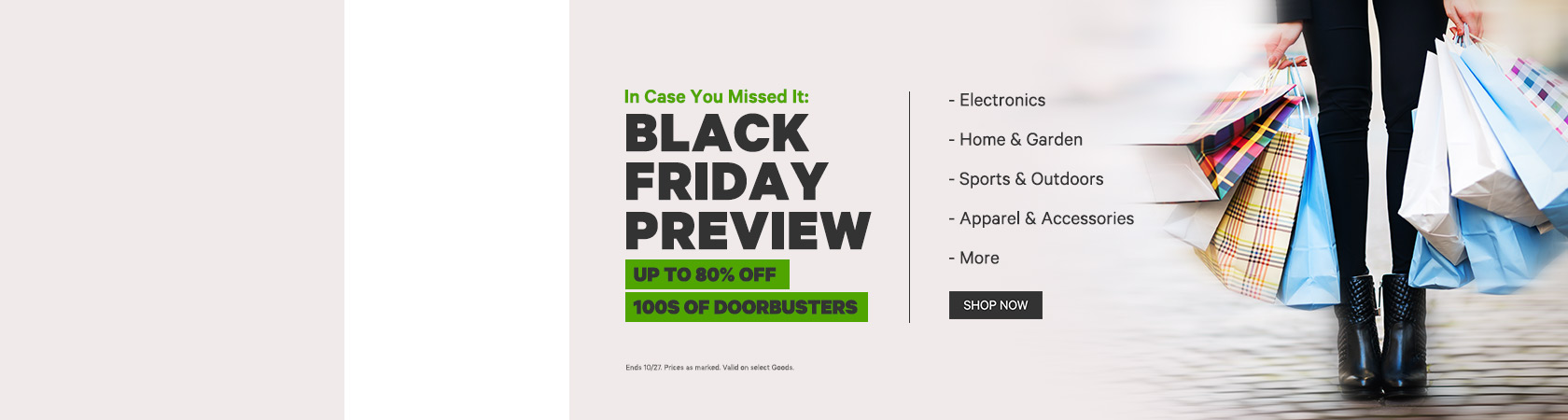 In Case You Missed It Black Friday