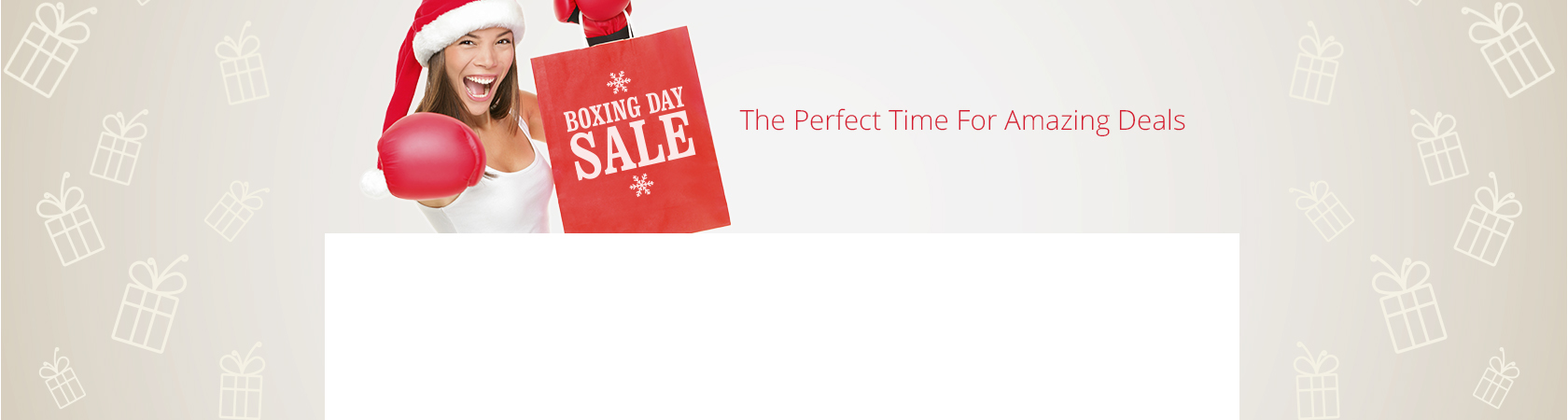 ϟ Boxing Day Bonanza ϟ
