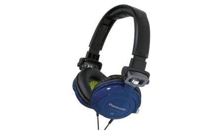 Panasonic RPDJS400A DJ Street Model Headphones (BLUE)