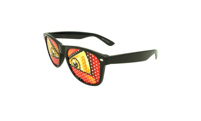MLC Stylish Eye Retro Square Sunglasses 222PIN1