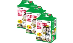 Fujifilm Instax Mini Instant Film (60-Count)