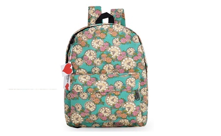 "Lightweight Canvas Cute Pattern Kids School Backpack,15"" - Maple 4d898b82-b0f4-4daf-b13b-d6e66d39728b"