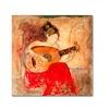 Joarez 'Vanessa' Canvas Art