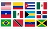Pride Decals: Pridedecals High Quality Country Flag Vinyl Decal Stickers 5-Pack