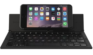 ZAGG Foldable Wireless Keyboard for Smartphones, Small Tablets, Apple, Android