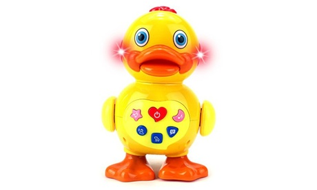 Play & Learn Joyful Duck Battery Operated Toy Figure e8b2dec6-0d93-4c22-a0ea-fa9894d565cb