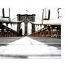 Yale Gurney 'Brooklyn Bridge' Canvas Art