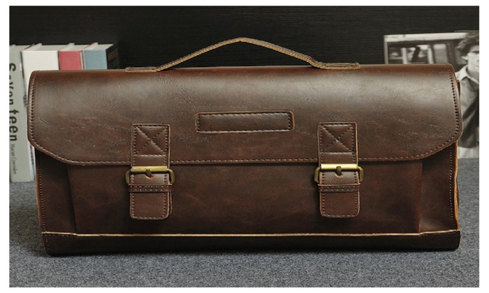 Men Bag Handbag Shoulder Classic Crossbady Bag Rawhide