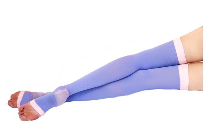 Breathable Sleep Stockings Reduce Varicose Veins
