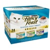 Fancy Feast Grilled Gourmet Wet Cat Food Seafood Variety Pack, 24 cans