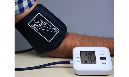Arm Blood Pressure Monitor with Large LCD Screen