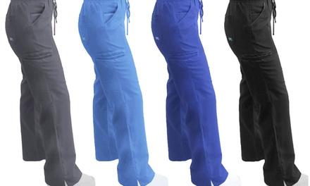 Women's Seamless Cargo Scrub Pants (XS-2XL)