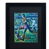 Lowell S.V. Devin 'World Cup Dream' Matted Black Framed Art