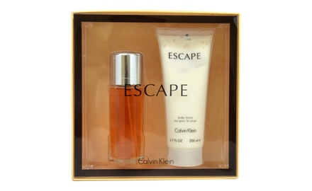 Escape by Calvin Klein for Women - 2 Pc Gift Set