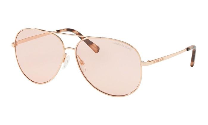 aaa54995cb23 Michael Kors KENDALL MK5016 1026/5 60 Shiny Rose Gold Frame / Pink Solid  Lenses