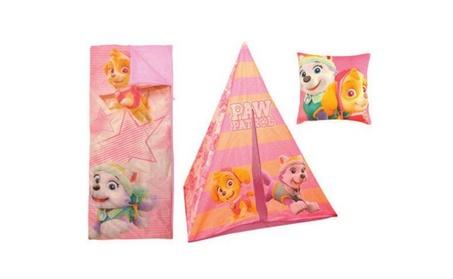 Nickelodeon Paw Patrol Teepee Play Tent and Slumber Bag 2a62693c-8739-4f58-b8b3-5a53d4c11167
