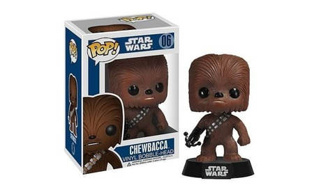 Funko Pop Star Wars Chewbacca Bobble-head Vinyl Action Figure Toy #06 9864169a-59a4-4289-ab2a-c09944583f90