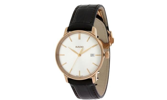 e499c1eaf6d Rado Coupole Classic Leather Automatic Unisex Watch R22866105