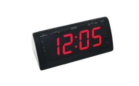 """Jumbo 1.8"""" Display AM FM Dual Alarm Clock Radio Digital Tuner 6f87d6c2-f6f8-461f-bffe-f717b18a761e"""